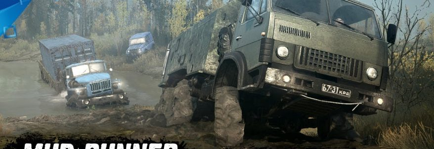 Spintires: MudRunner – Gameplay Trailer