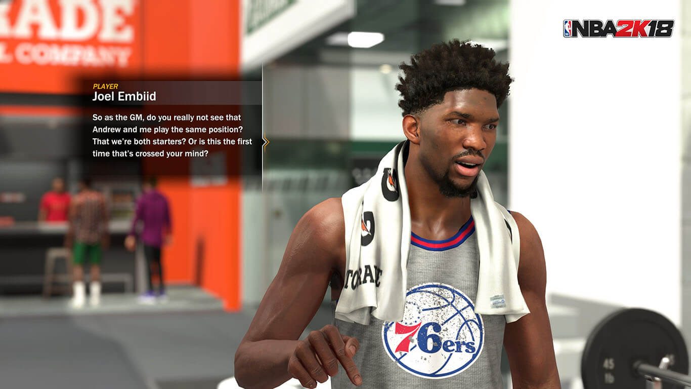 Imagini NBA 2K18