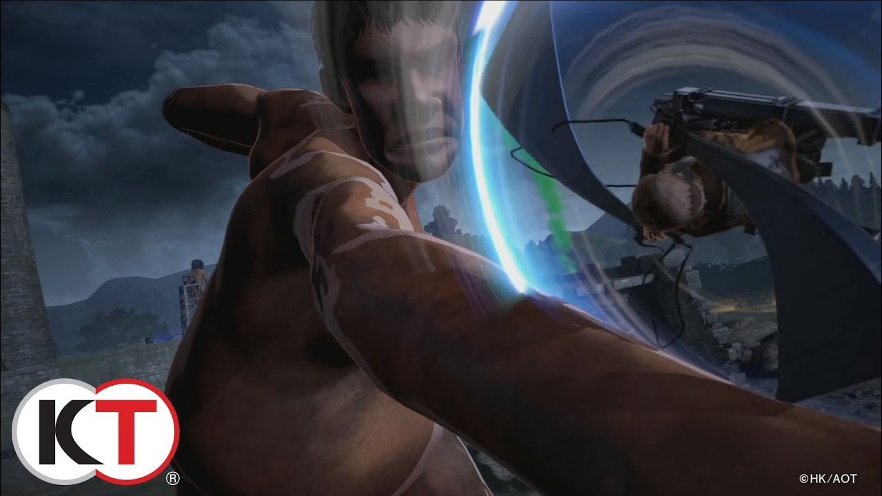 Attack on Titan 2 – Action Trailer
