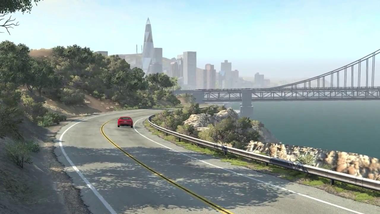BeamNG.drive – West Coast USA Trailer