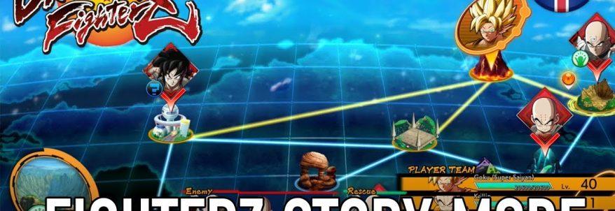 Dragon Ball FighterZ - Story Mode Trailer