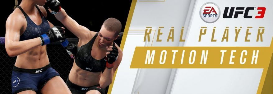 EA Sports UFC 3 - Real Player Motion Tech