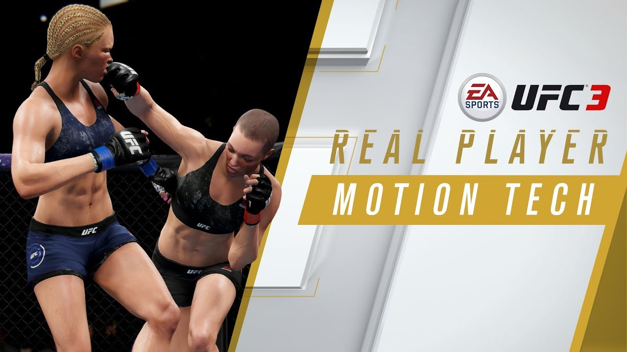 EA Sports UFC 3 – Real Player Motion Tech