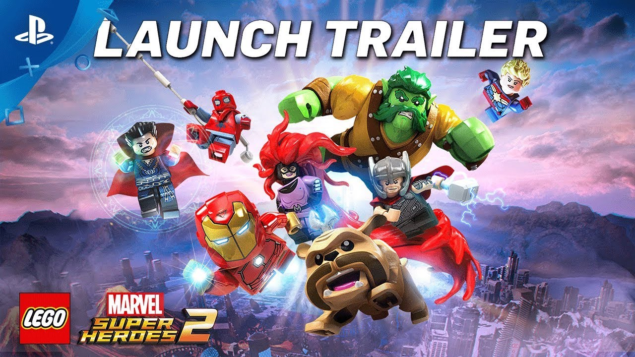 LEGO Marvel Super Heroes 2 – Trailer Lansare