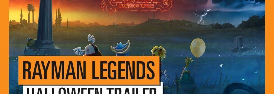 Rayman Legends Definitive Edition - Halloween Trailer