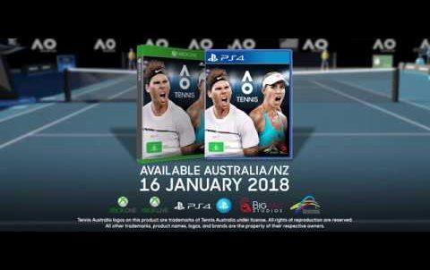 AO Tennis – Trailer