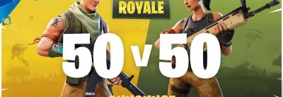 Fortnite: Battle Royale –  50v50 Trailer