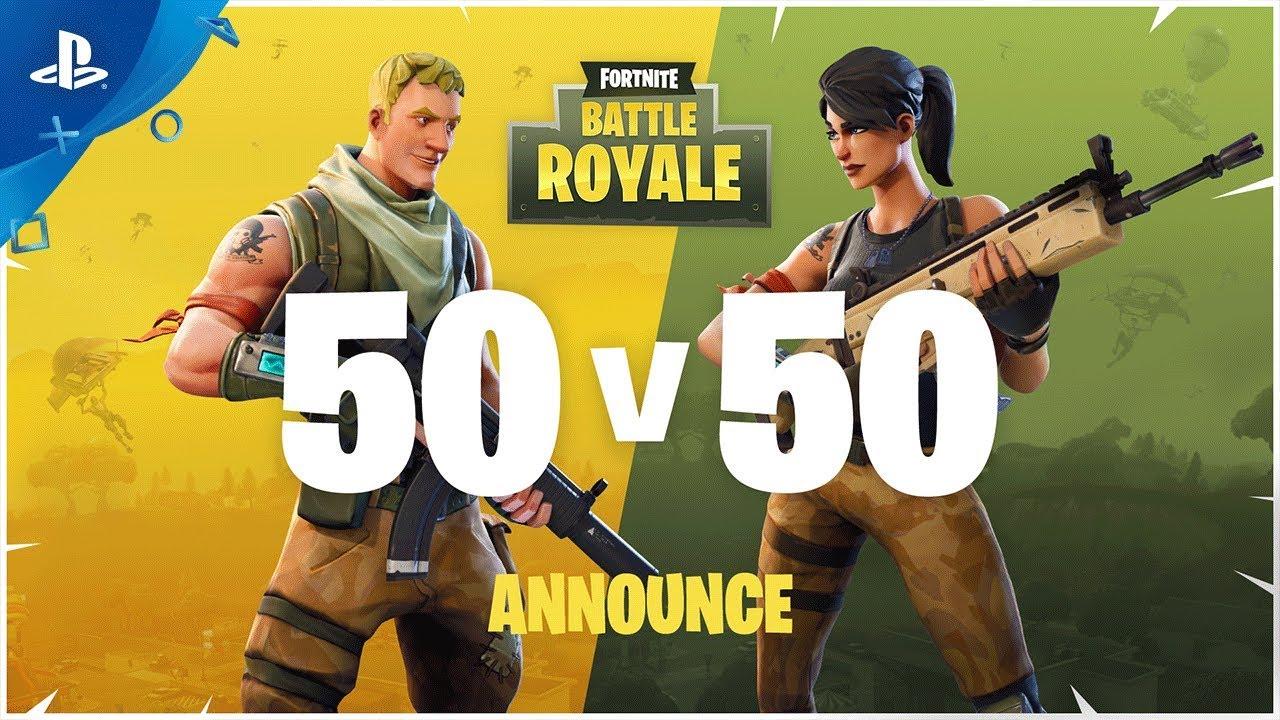 Fortnite: Battle Royale –  50v50 Trailer
