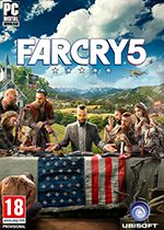 Far Cry 5 Standard Edition Box Art Coperta