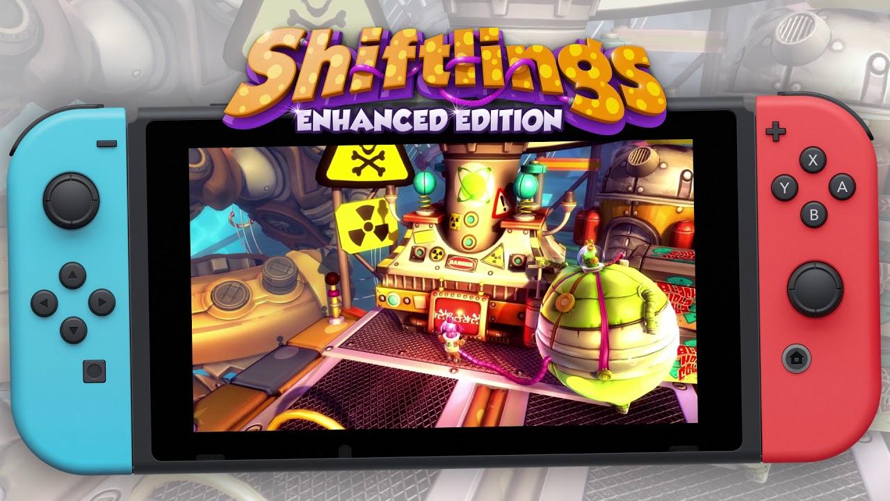Shiftlings – Nintendo Switch Trailer