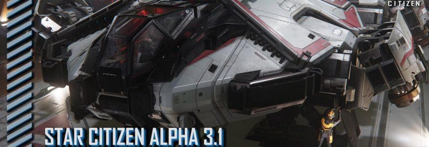 Star Citizen – Alpha 3.1 – Anvil Terrapin