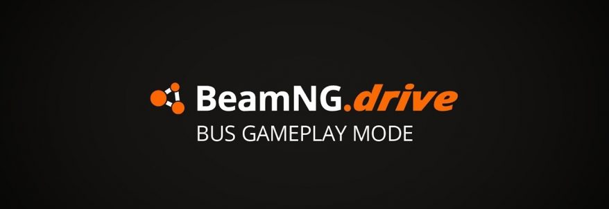 BeamNG.drive - Bus Gameplay Mode