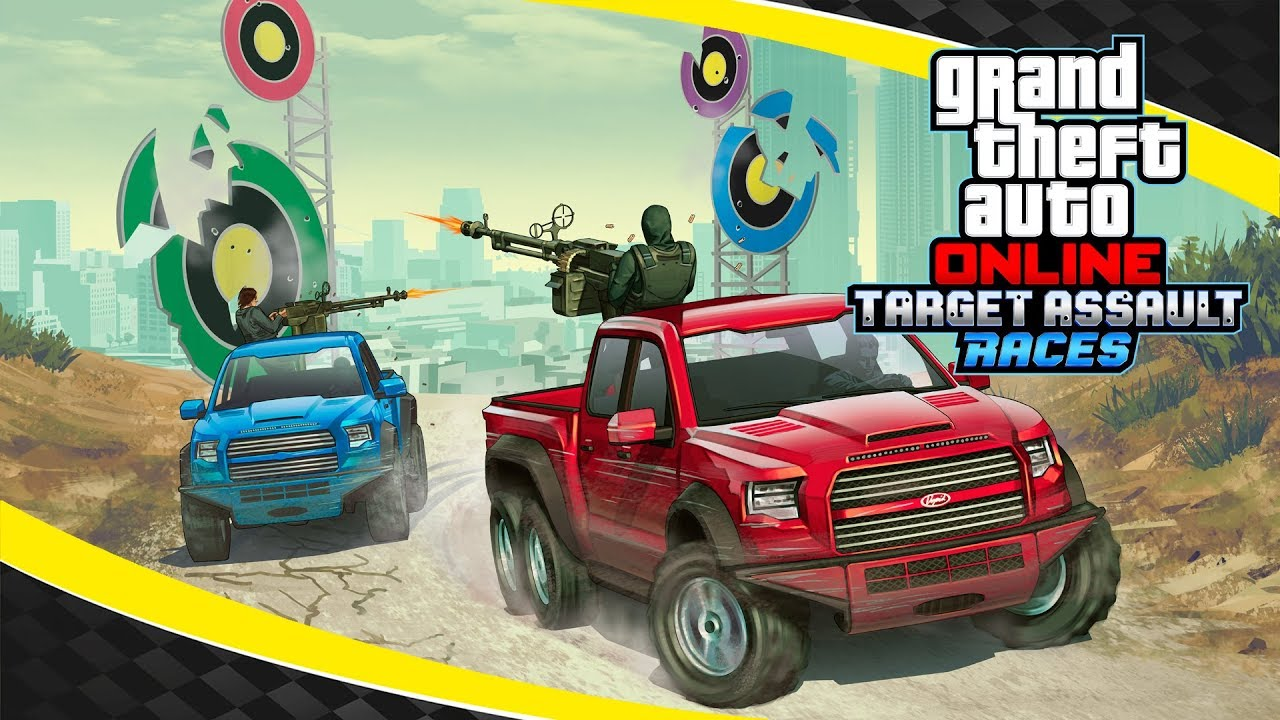 Grand Theft Auto Online – Target Assault Races Trailer