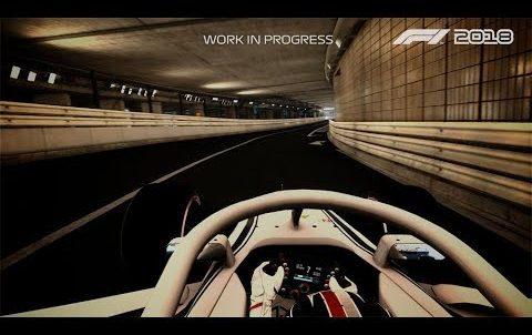 F1 2018 – Charles Leclerc Monaco Gameplay