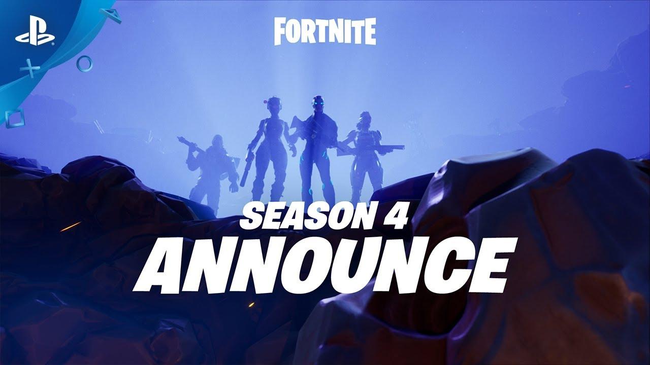 Fortnite – Season 4 Announce Trailer