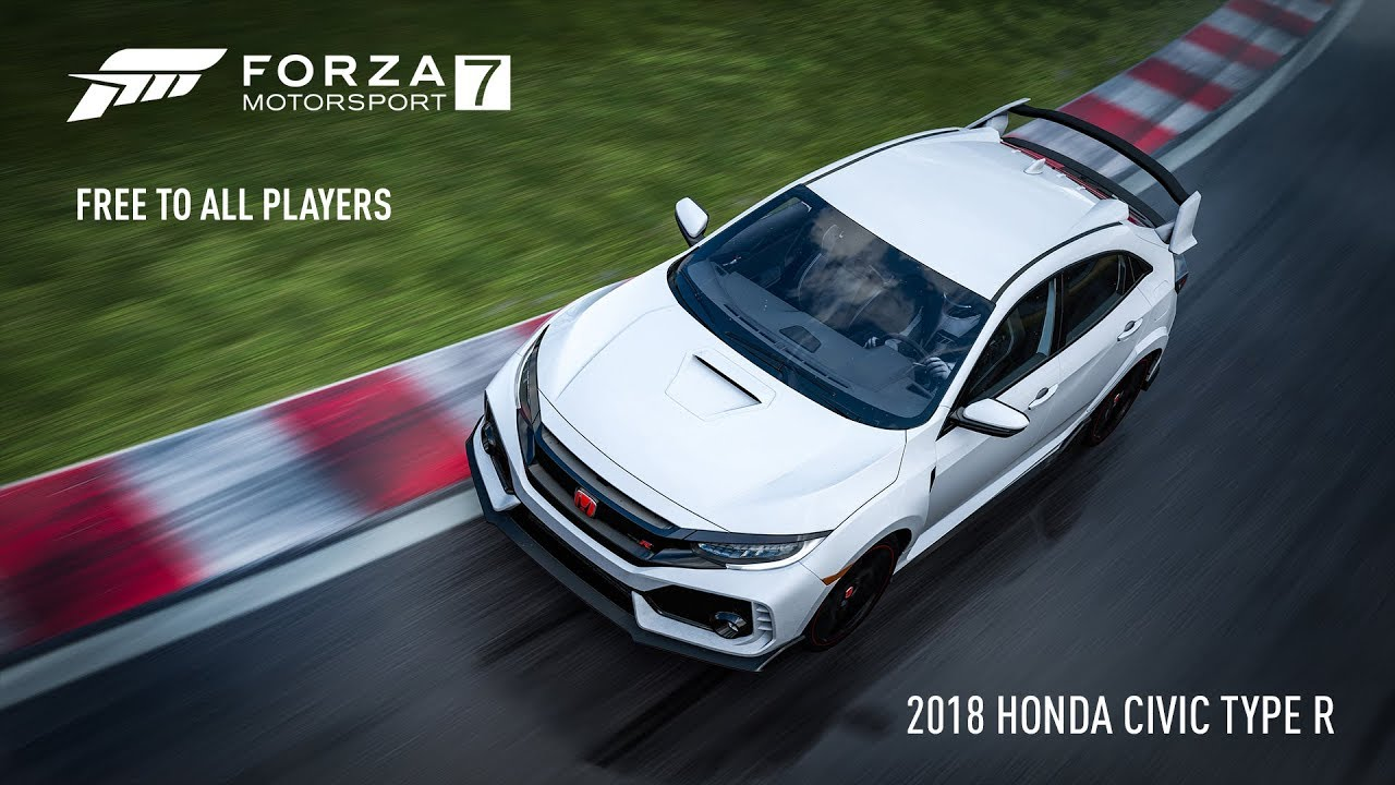 Forza Motorsport 7 – 2018 Honda Civic Type R
