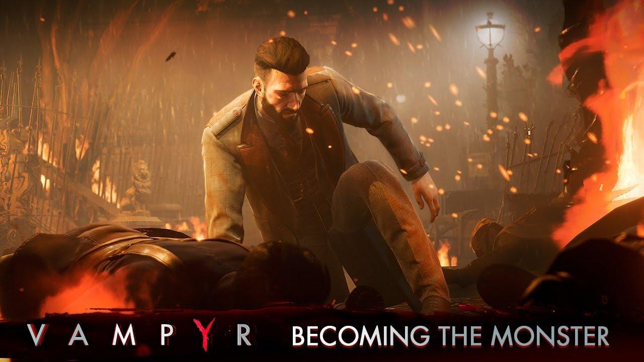 Vampyr – Becoming the Monster Trailer