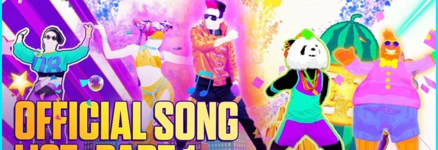 Just Dance 2019 - E3 2018 Song List