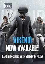 Playerunknowns Battlegrounds Vikendi Survivor Pass PC Box Art Coperta