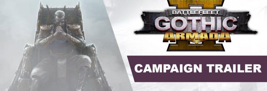 Battlefleet Gothic: Armada 2 a primit trailer de prezentare a campaniei