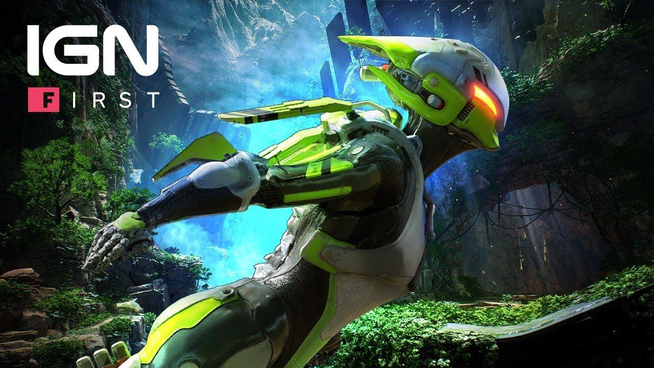 Build-ul Interceptor Javelin din Anthem prezentat