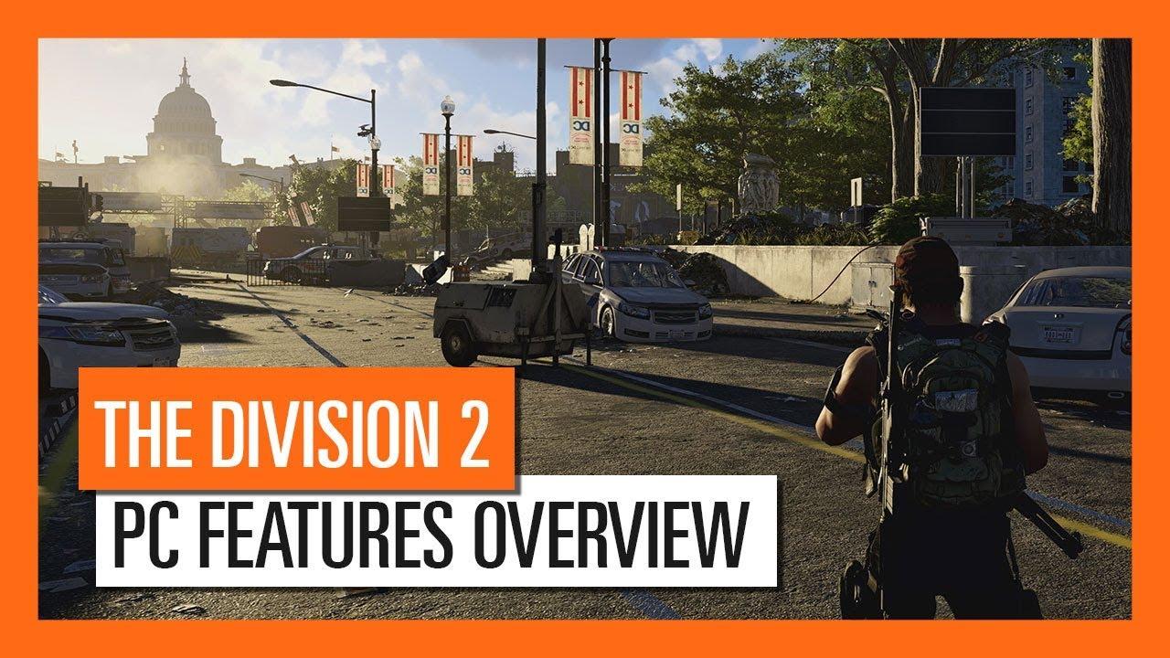 Caracteristicile exclusive pe PC pentru Tom Clancy's The Division 2 prezentate