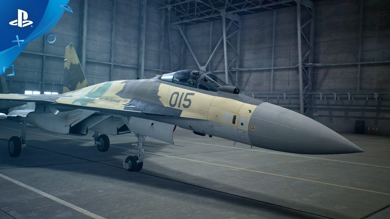 Trailer de prezentare al avionului Su-35s din Ace Combat 7: Skies Unknown