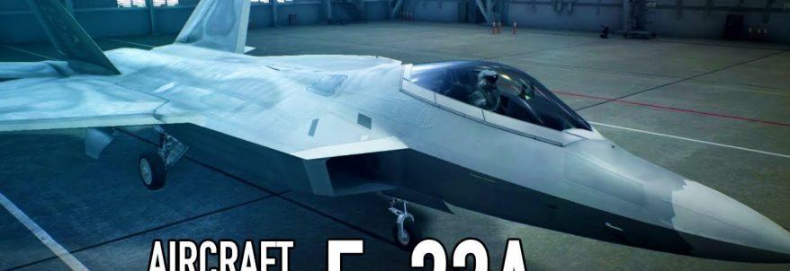 Trailer de prezentare al avionului F-22A din Ace Combat 7: Skies Unknown