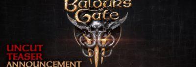 Baldur's Gate III - E3 2019 Trailer