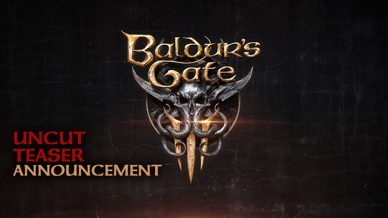 Baldur's Gate III – E3 2019 Trailer