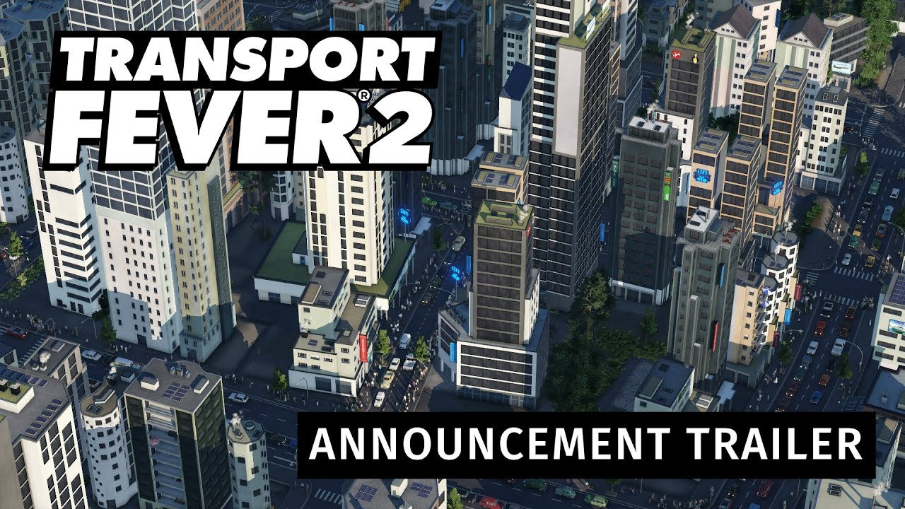 Transport Fever 2 – Announcement Trailer